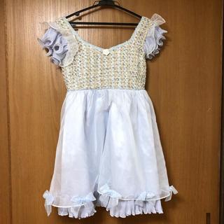 リズリサ(LIZ LISA)のLIZ LISA ブルーシンデレラ風ワンピース(その他ドレス)