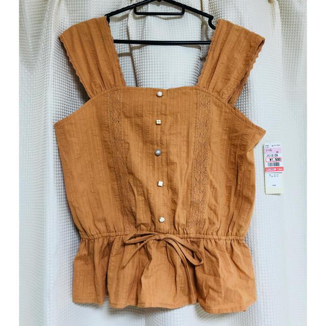しまむら(シマムラ)のHaru様専用 ブラウス 袖なし レディースのトップス(シャツ/ブラウス(半袖/袖なし))の商品写真