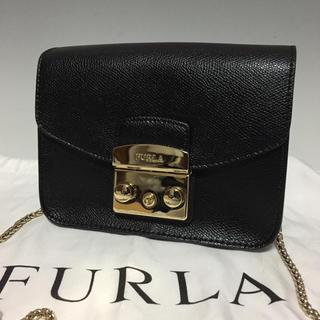 7817463ecbe6 フルラ(Furla)のFURLA 黒 メトロポリス チェーンバッグ ショルダーバッグ フルラ (ショルダー