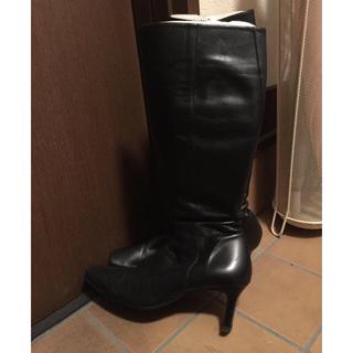 マリーファム(Marie femme)のロングブーツ 黒(ブーツ)