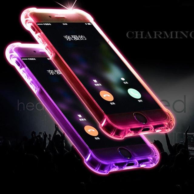 光るiPhoneケースの通販 by 購入前にコメント在庫確認|ラクマ