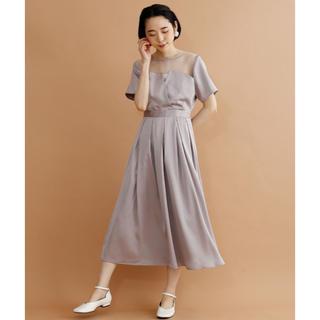 メルロー(merlot)の結婚式 パーティ ワンピース ビスチェ風ワンピース(その他ドレス)
