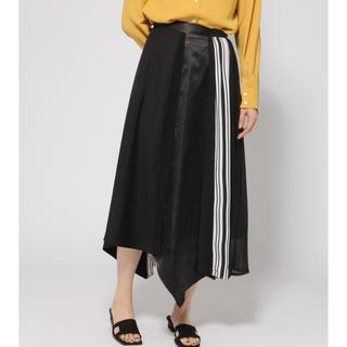 ハレ(HARE)の新品 タグ付き HARE ランダムミックススカート ブラック(ロングスカート)