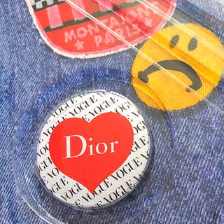 ディオール(Dior)のVOGUE   Dior 缶バッジ(その他)