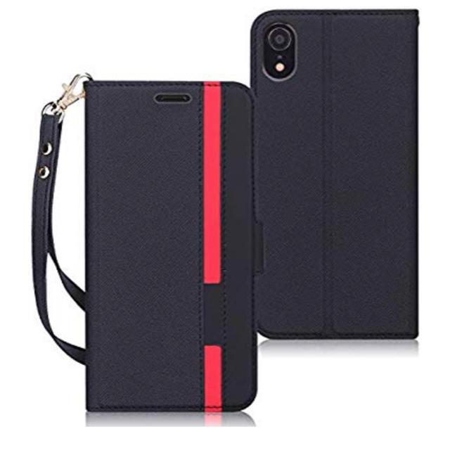 iphone8 スパイダーマン ケース 、 X593 iPhone XR ケース手帳型カード収納スタンド機能ストラップ付きの通販 by 全品セール中|ラクマ