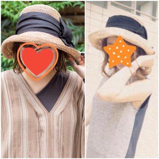 カシラ(CA4LA)のCA4LA♡リボンハット(ハット)
