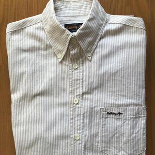 アベイシングエイプ(A BATHING APE)のアベイジングエイプ ストライプ ボタンダウンシャツ(シャツ)