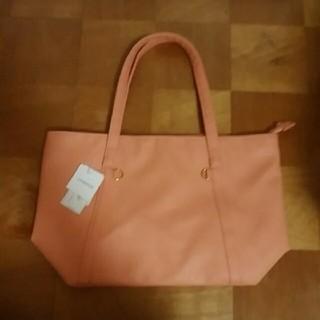 3d6779650f4d ジーユー(GU)の【新品】 カバン バッグ サーモンピンク オレンジ(ショルダーバッグ