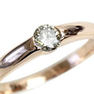 【中古品】ダイヤモンドリング  0.2ct(リング(指輪))