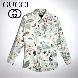 グッチ(Gucci)のGUCCI グッチ 花柄 フラワー シャツ アロハシャツ メンズ(シャツ)