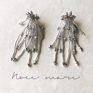 -silver shower- 再販(ピアス)