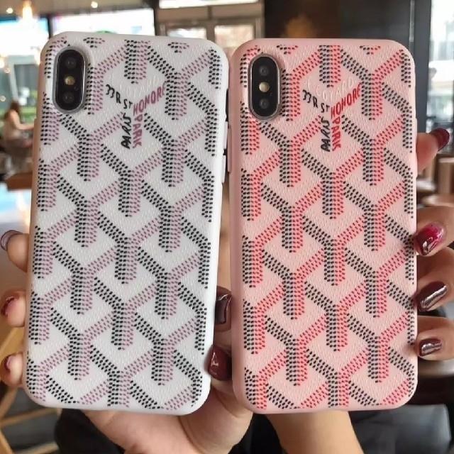 GOYARD - iPhone XS XR ケース ピンクの通販 by raise shop|ゴヤールならラクマ