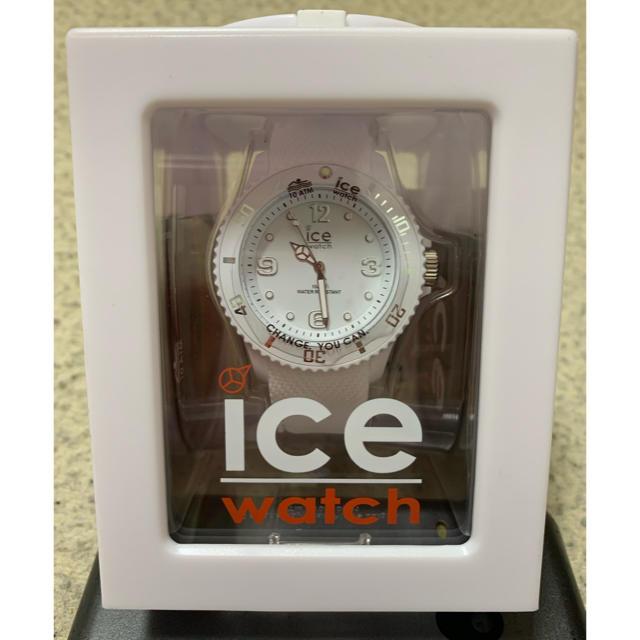 ice watch - ice watch 白の通販 by なっかむ's shop|アイスウォッチならラクマ