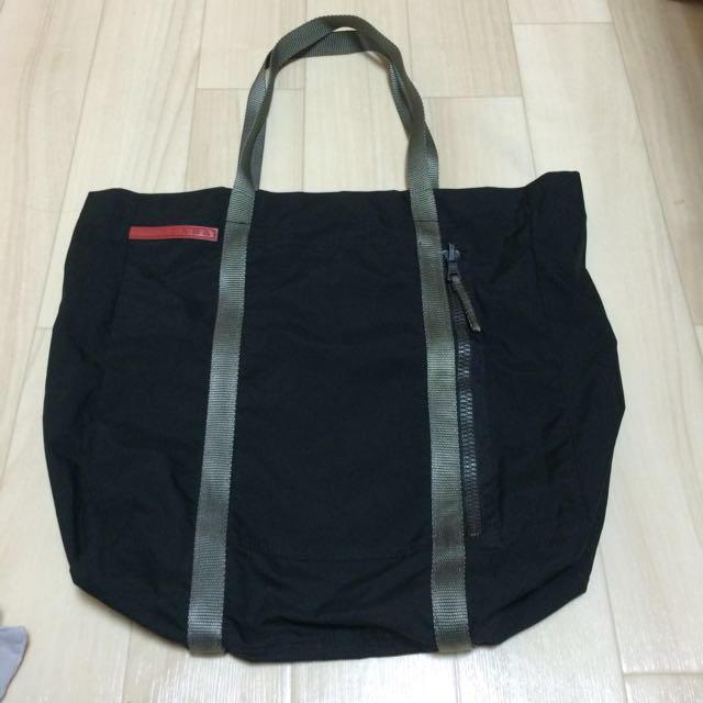 classic fit 4207a 8a55f PRADAスポーツライン☆トートバッグ | フリマアプリ ラクマ
