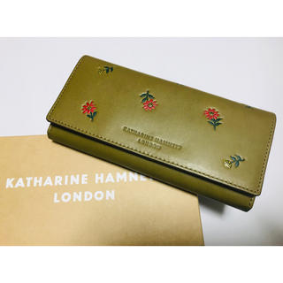 4d935207f771 キャサリンハムネット(KATHARINE HAMNETT)のキャサリンハムネット KATHARINE HAMNETT 長財布 新品