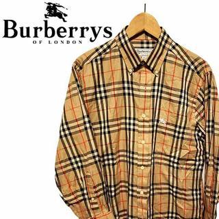 バーバリー(BURBERRY)の【90s 古着】バーバリーロンドン Burberrys ノバチェックシャツ (Tシャツ/カットソー(七分/長袖))