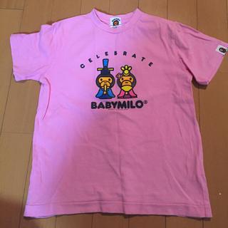 アベイシングエイプ(A BATHING APE)の中古☆BAPE KIDS Tシャツ 130(Tシャツ/カットソー)