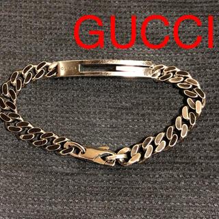 2496397925d1 グッチ(Gucci)のGUCCI グッチ ブレスレット シルバー ラージ Gチーフ 中古 送料無料(
