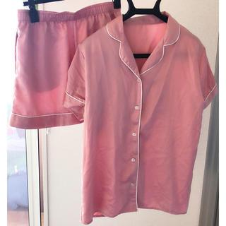 ジーユー(GU)のピンクのパジャマ(パジャマ)
