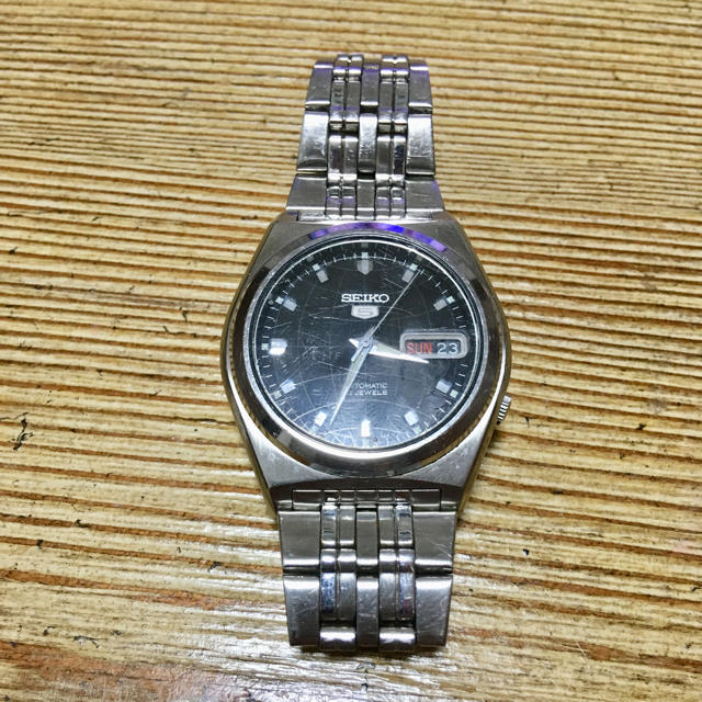 SEIKO - SEIKO 腕時計 SEIKO 5 7S26-02E0の通販 by esukeei|セイコーならラクマ