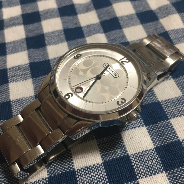 ウィッカ 時計 激安ブランド | COACH - coach 腕時計 箱なしの通販 by たかみ's shop|コーチならラクマ