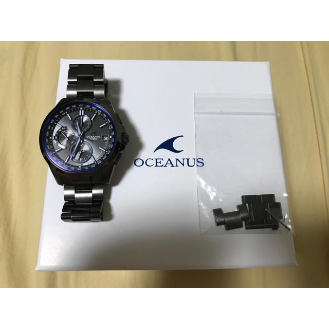 CASIO - OCEANUS OCW-T2600B-1AJF クラシックライン オールブラックの通販 by nakashun's shop|カシオならラクマ