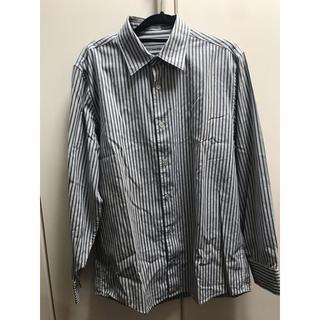 カルバンクライン(Calvin Klein)のストライプシャツ メンズ カルバンクライン(シャツ)