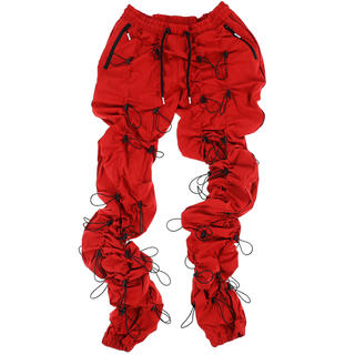 オフホワイト(OFF-WHITE)の99%is gobchang pants red blk(その他)