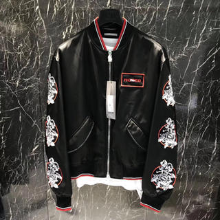 DIOR HOMME - 新品タグ付き❗️正規DIOR HOMME ランウェイモデル刺繍ブルゾン52