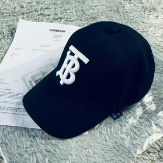 バーバリー(BURBERRY)の夏コーデ新品正规品2019 BURBERRYバーバリー キャップ黒(キャップ)