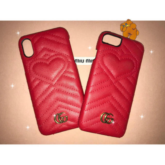 gucci iphone7 ケース tpu 、 Gucci - gg marmont iPhone caseの通販 by 🐶|グッチならラクマ