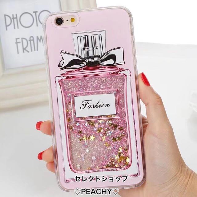 香水 グリッター iPhone ケースの通販 by ♡Queen Land♡|ラクマ