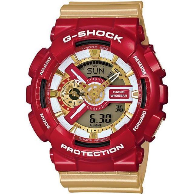 G-SHOCK - 限定G-SHOCK クレイジーカラーズ アイアンマン GA-110CS-4AJFの通販 by cykt_3156's shop|ジーショックならラクマ