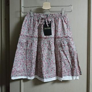 イーストボーイ(EASTBOY)の人気! 新品 未使用 イーストボーイ 小花柄  ギャザー スカート 150㎝(スカート)
