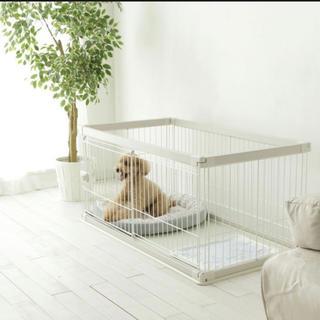 アイリスオーヤマ(アイリスオーヤマ)の【【ラストSALE】アイリスオーヤマ ペット ケージ サークル 小型犬 中型犬(犬)
