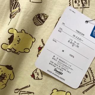 ポムポムプリン(ポムポムプリン)のポムポムプリン 総柄 tシャツ M(Tシャツ(半袖/袖なし))