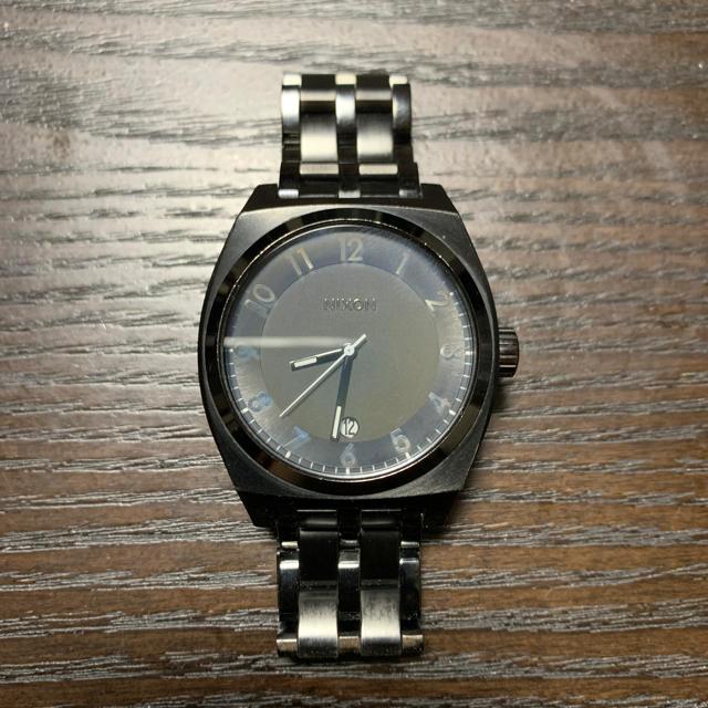 NIXON - Nixon ブラック 美品 腕時計の通販 by MF's shop|ニクソンならラクマ