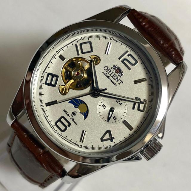 ヌベオ偽物 / ビッグフェイス 自動巻 メンズ腕時計 新品 未使用品 海外モデル 機械式時計の通販 by 安売王に俺はなる|ラクマ