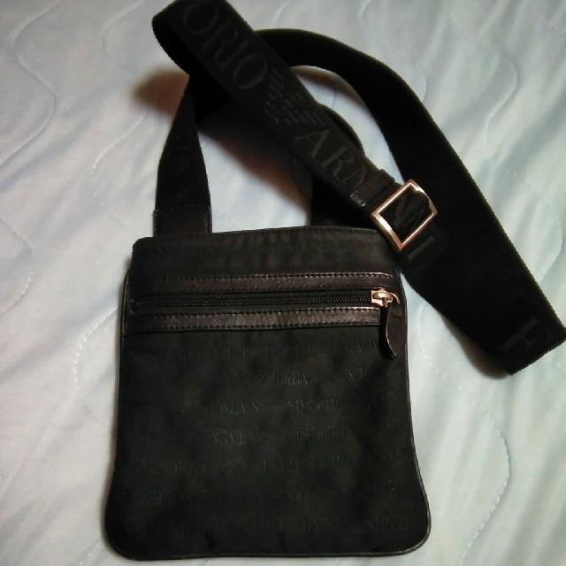 Emporio Armani(エンポリオアルマーニ)のARMANI アルマーニ ショルダーバッグ メンズのバッグ(ショルダーバッグ)の商品写真