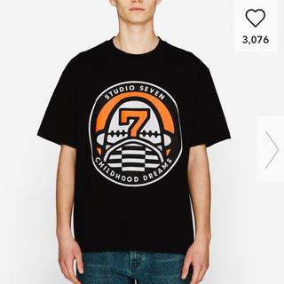 サンダイメジェイソウルブラザーズ(三代目 J Soul Brothers)のstudioSEVEN GU Tシャツ 黒 L(Tシャツ/カットソー(半袖/袖なし))