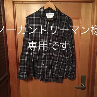 マウンテンリサーチ(MOUNTAIN RESEARCH)のmountain reserch チェックシャツ(シャツ)