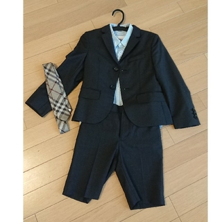 バーバリー(BURBERRY)のバーバリー スーツ 116(6Y) 2つボタン(ドレス/フォーマル)