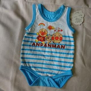 バンダイ(BANDAI)のロンパース  アンパンマン  80cm(ロンパース)
