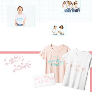 ピーチジョン(PEACH JOHN)のNice Body Club. Tシャツ 中村アン(Tシャツ(半袖/袖なし))