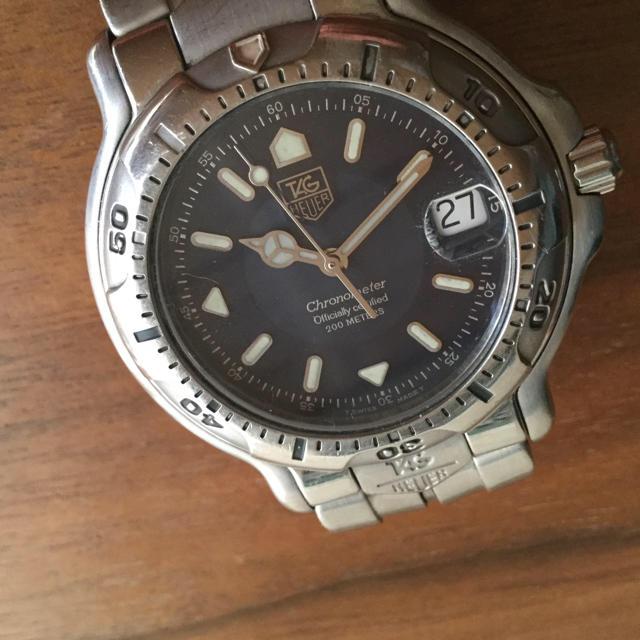 TAG Heuer - タグホイヤー✳︎自動巻きクロノメーター✳︎腕時計/6000シリーズの通販 by matsumatsu|タグホイヤーならラクマ