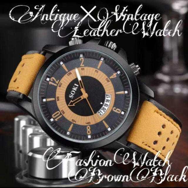 ブルガリの 時計 / 【海外限定ウォッチ】SOKI's メンズ 時計 ウォッチ ヴィンテージの通販 by さとこショップ|ラクマ