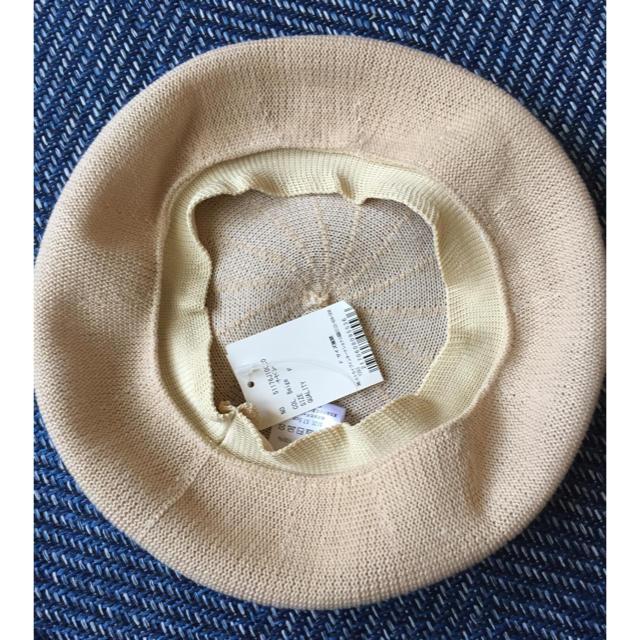 earth music & ecology(アースミュージックアンドエコロジー)のearth music&ecology 夏用 ベレー帽 レディースの帽子(ハンチング/ベレー帽)の商品写真