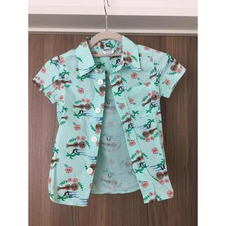 ブリーズ(BREEZE)のBREEZE  キッズ半袖シャツ  サイズ95(ブラウス)