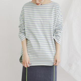 ケービーエフ(KBF)のKBF BIG BIGボーダーTシャツ(Tシャツ(長袖/七分))
