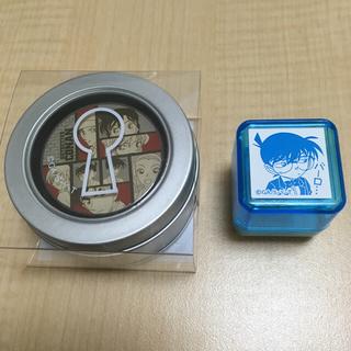 ショウガクカン(小学館)のコナン マステ 郵便局限定 マスキングテープ & スタンプ セット(テープ/マスキングテープ)